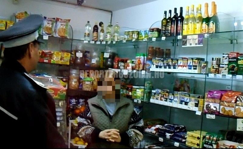 Dulciuri și sucuri expirate de 7 ani, descoperite de polițiștii din Buzău