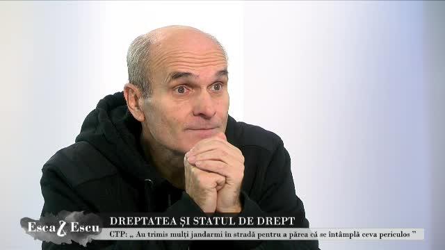 """Cristian Tudor Popescu, despre legile justiției: """"Ieșirea magistraților, masiv, în stradă, chiar și în robă"""""""