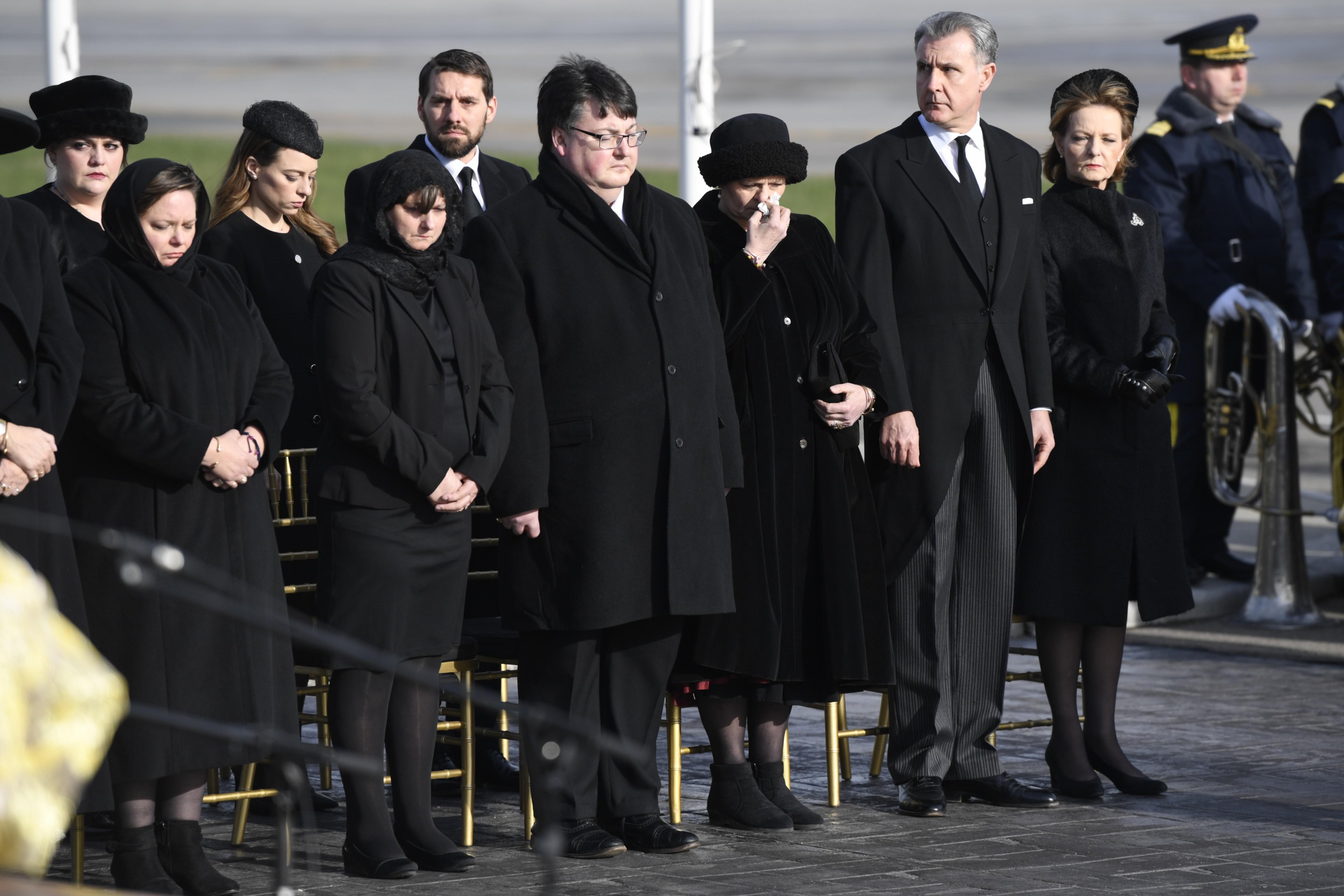 Ceremonia sosirii Regelui Mihai în țară. Principesa Margareta a izbucnit de mai multe ori în lacrimi