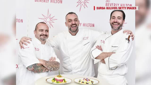 Globurile de Aur 2018: meniul pregătit de maestrul bucătar Beverly Hills