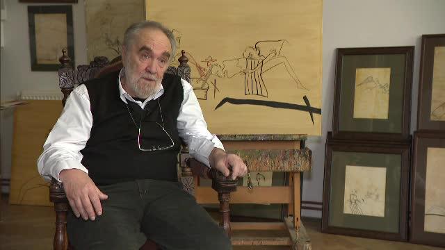 Tablourile lui stau lângă Picasso sau Matisse. Artistul român care și-a trasat viața în desene