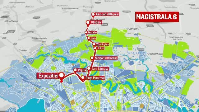 Linia de metrou care va lega Capitala de aeroportul Otopeni se va face doar pe jumătate