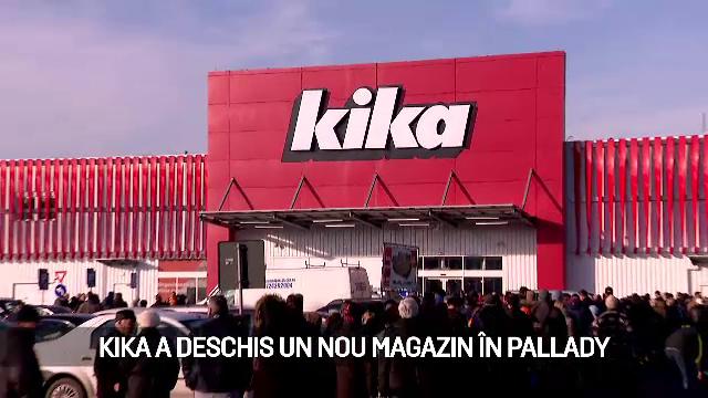 (P) kika a deschis un nou magazin în Pallady