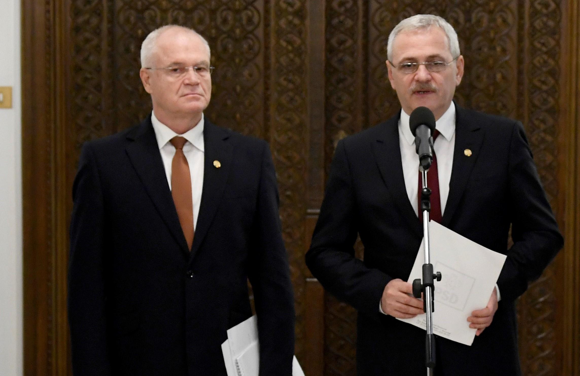PSD i-a retras sprijinul politic lui Tudorel Toader. Nicolicea, propus în locul său