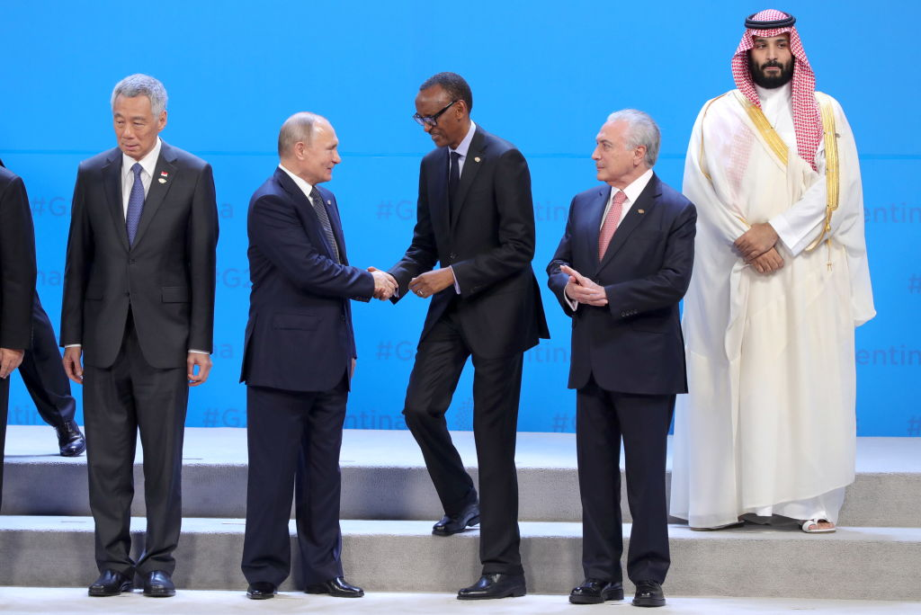 Moment jenant pentru prințul bin Salman la summitul G20: ignorat de toți liderii lumii. VIDEO