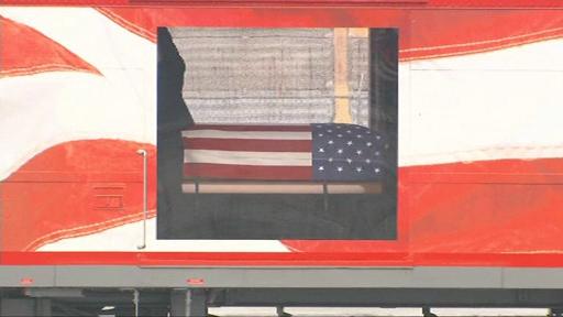 Imagini cu trenul care a dus sicriul lui George Bush Sr, o premieră în ultimii 50 de ani
