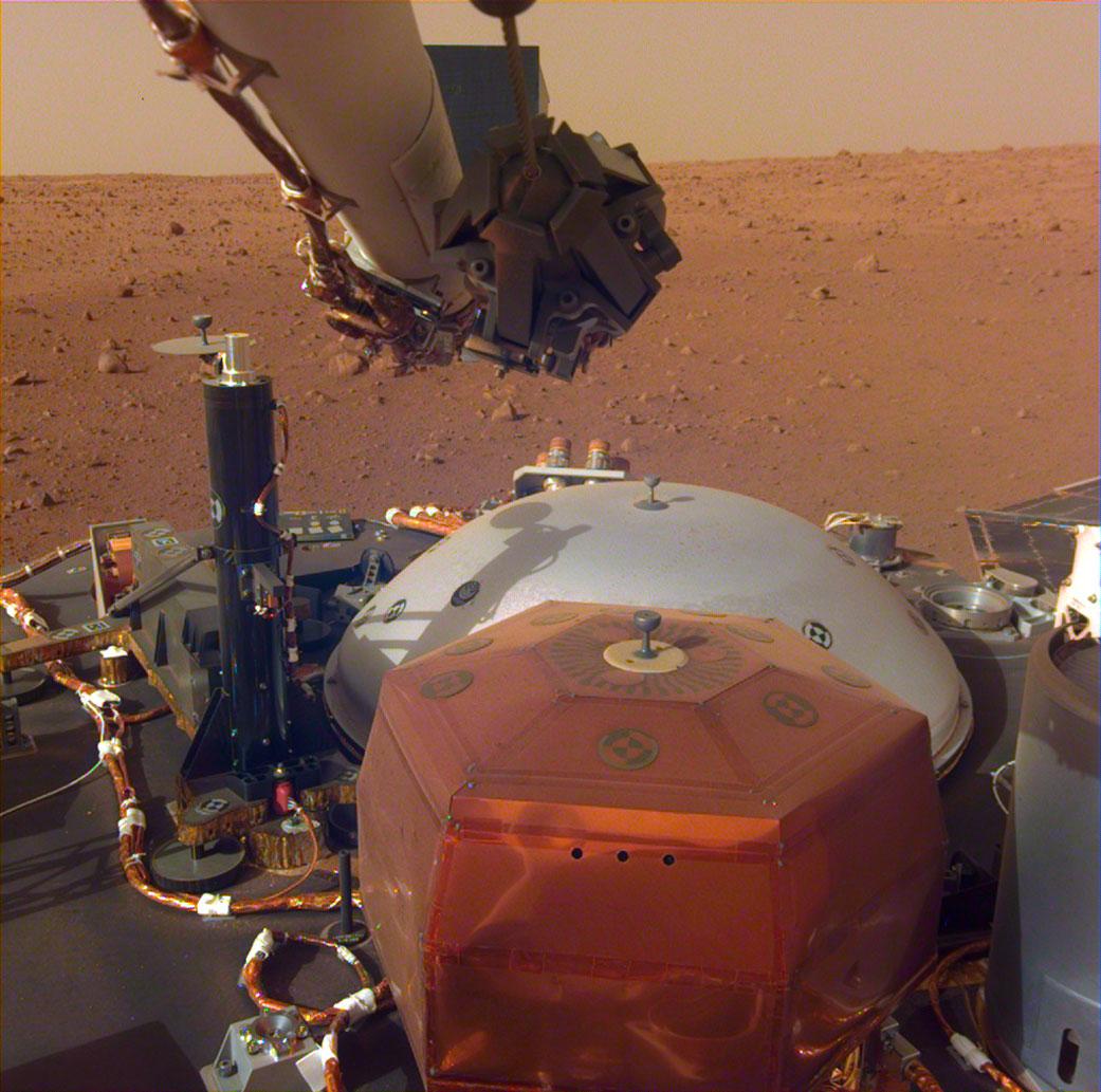 """Sunete """"dintr-o altă lume"""". Ce se aude în prima înregistrare audio de pe Marte"""