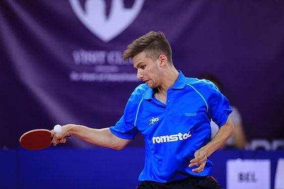 Cristian Pletea, medaliat cu bronz la CM de juniori, la tenis de masă