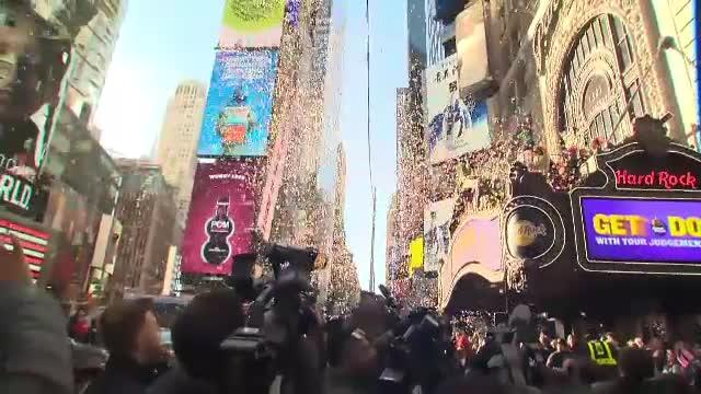 Repetiție generală pentru Revelionul din Times Square. Peste 1 milion de oameni vor participa