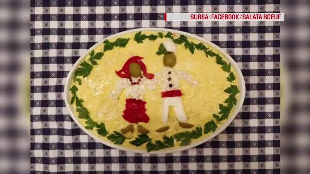 Salata de boeuf, varianta românească. Secretul reţetei originale, pierdut pentru totdeauna