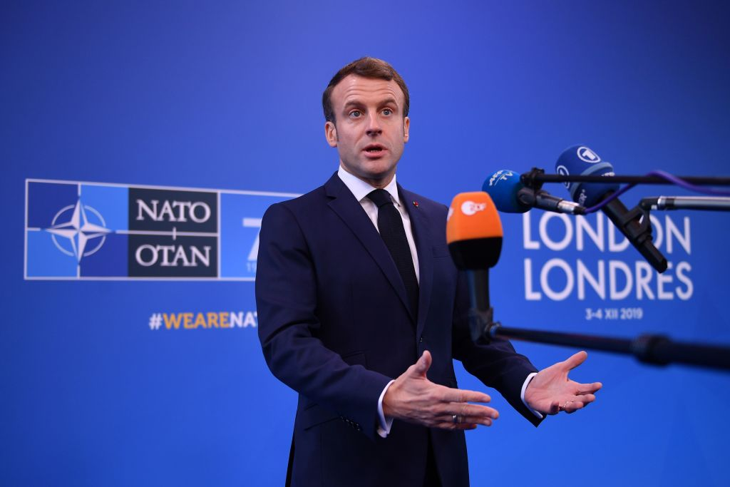 """Acuzații grave lansate de Macron la adresa Turciei. """"Lucrează cu intermediari ai ISIS"""""""