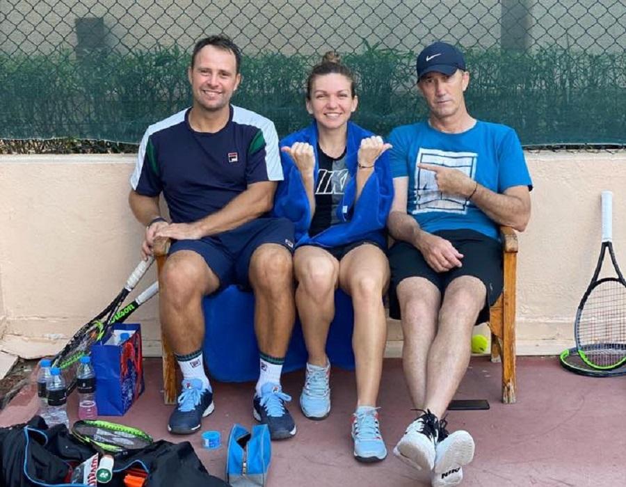Simona Halep a renunțat la colaborarea cu unul dintre antrenorii săi.