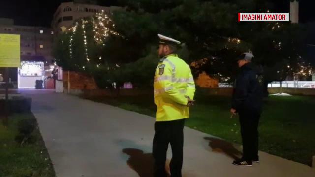 Colet suspect lăsat lângă un loc de joacă în Constanța. Oamenii au sunat la 112