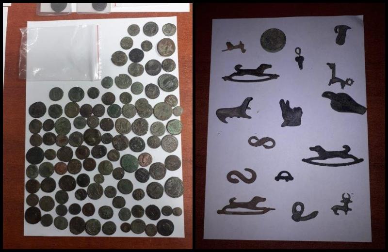 Tezaur descoperit la frontieră. Unde au fost ascunse mii de obiecte arheologice