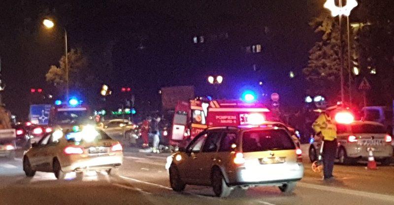Un bărbat din Alba Iulia a fost accidentat mortal pe trecerea de pietoni de o șoferiță cu BMW