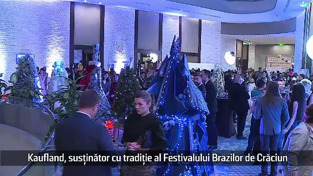 (P) Kaufland, susținător cu tradiție al Festivalului Brazilor de Crăciun
