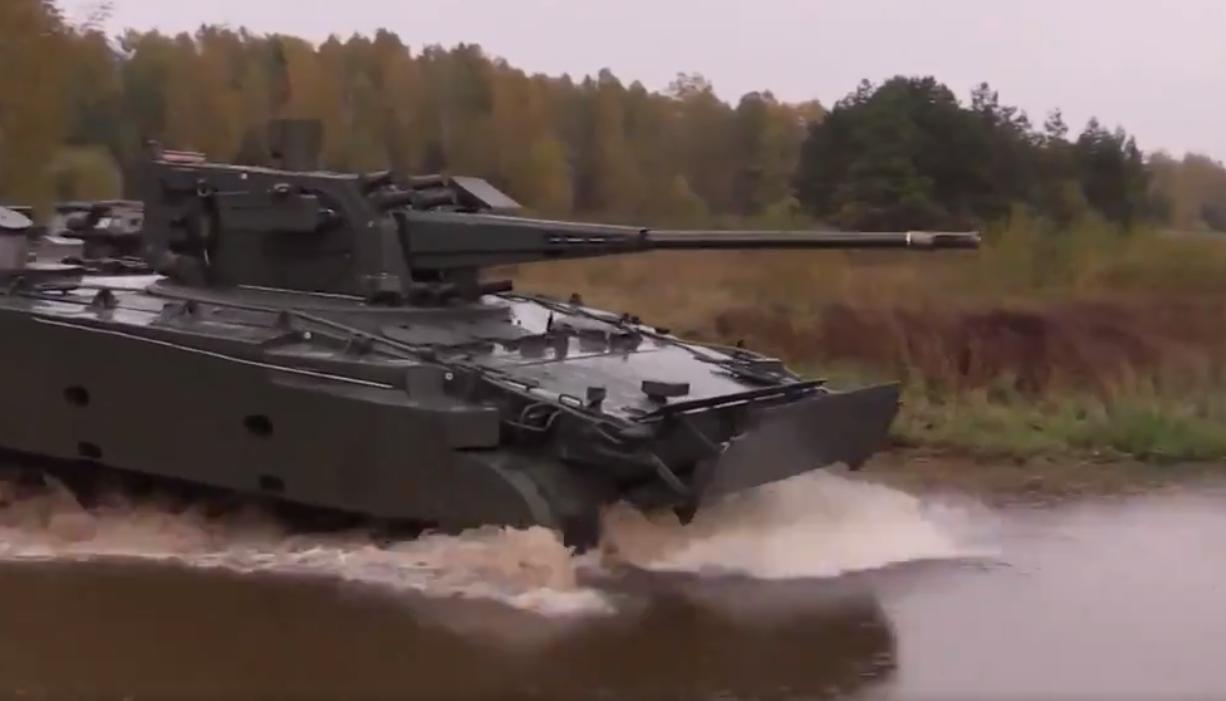 Rusia testează tancul controlat wireless. Poate distruge orice tip de inamic. VIDEO
