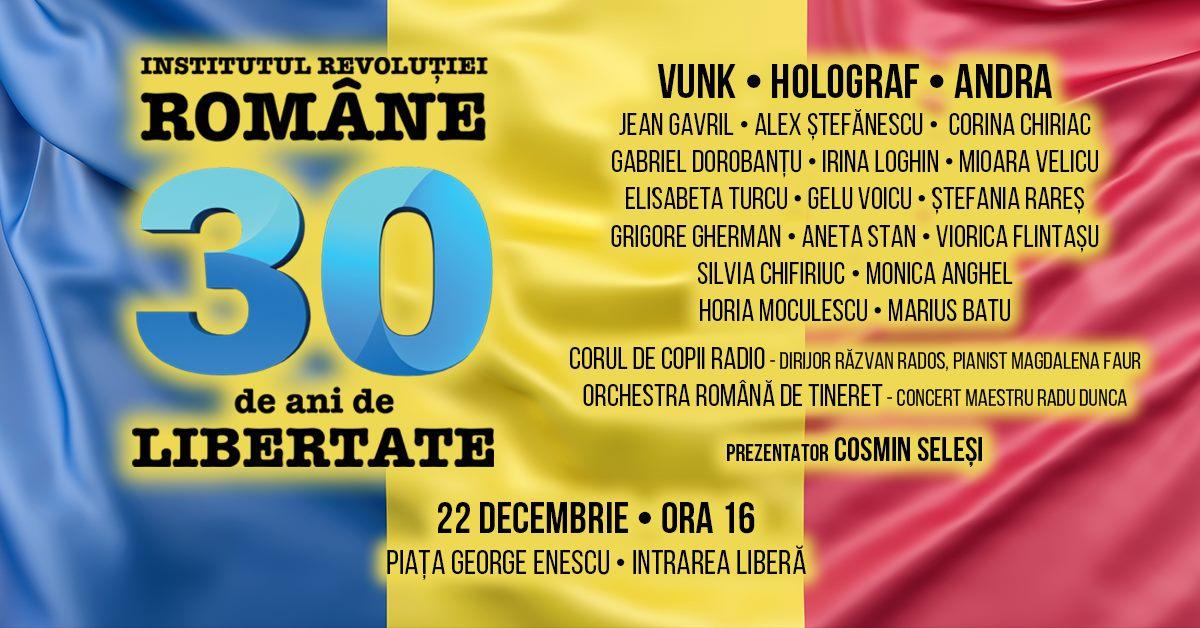 Câteva grupări civice contestă concertul organizat de Institutul lui Ion Iliescu în 22 decembrie