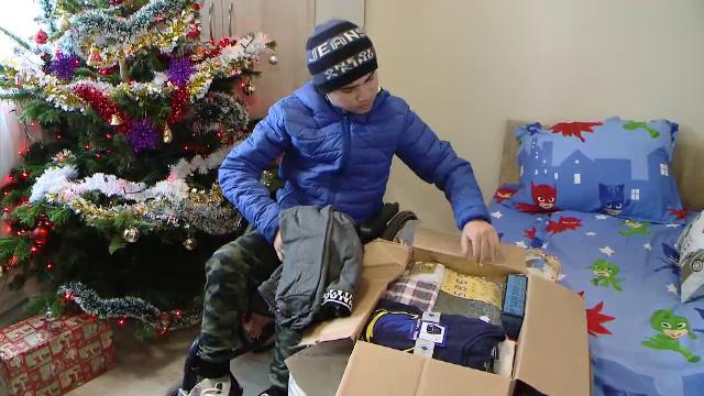 Miracol de Crăciun pentru o familie din Iași. Cadoul care le va schimba complet viața
