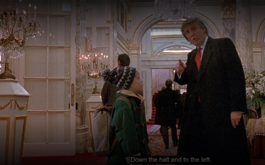 """Ce spune Donald Trump despre rolul pe care l-a jucat în """"Singur acasă"""""""