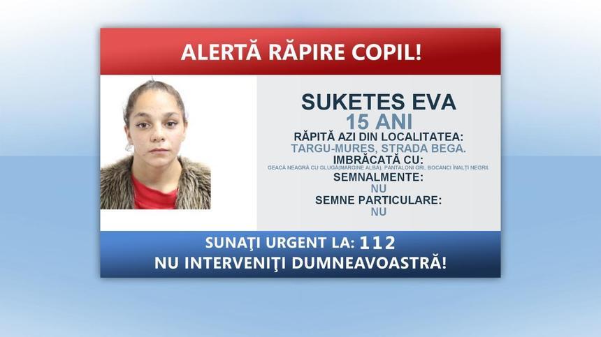 Minora răpită de pe o stradă din Târgu Mureș a fost găsită. Ce s-a întâmplat după ce a fost urcată într-o mașină cu forța