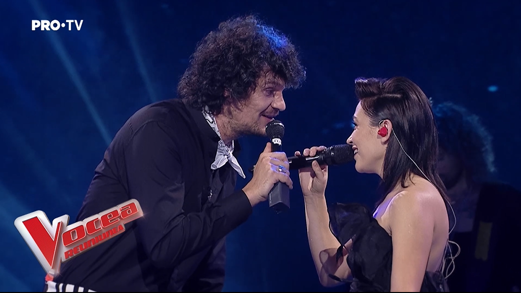 """Ediție specială """"Vocea României"""" de 1 Decembrie. Tudor Chirilă și Irina Rimes, un duet de excepție"""