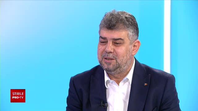 """VIDEO. Interviu cu președintele PSD, Marcel Ciolacu: """"Cred că o să câștigăm alegerile"""""""