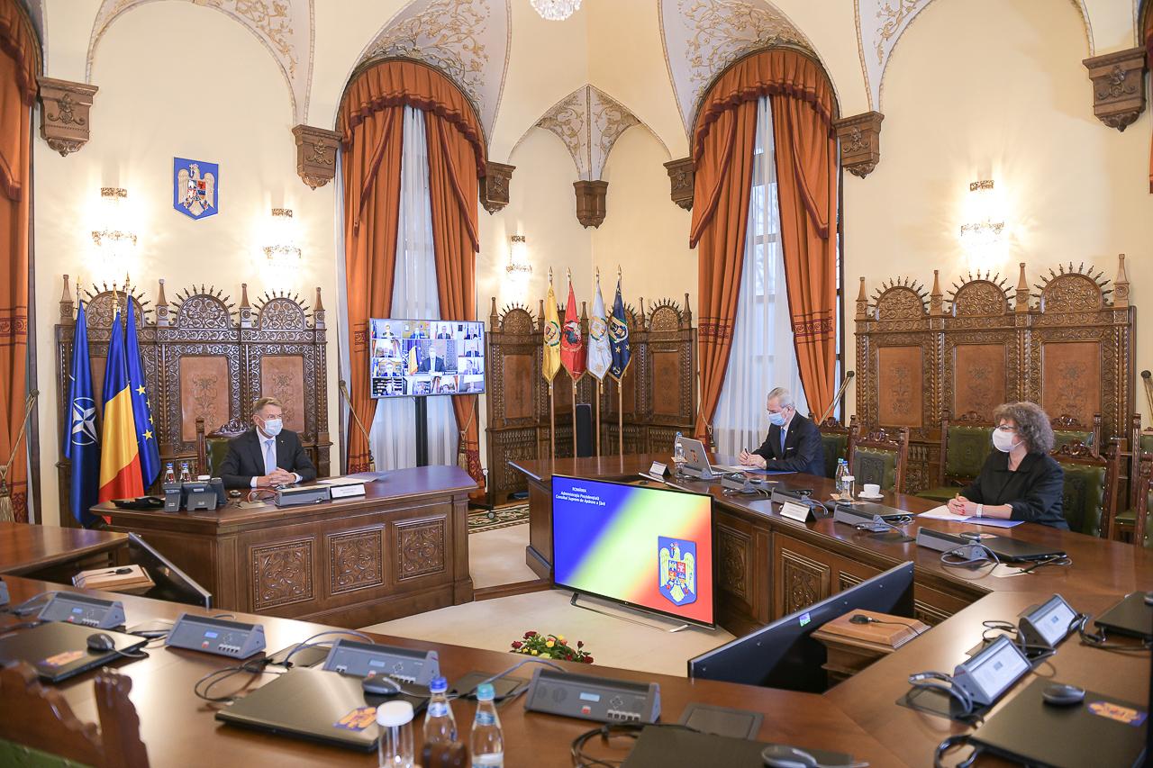 Ședință CSAT la Palatul Cotroceni. Propunerile de buget pe 2021, pe ordinea de zi