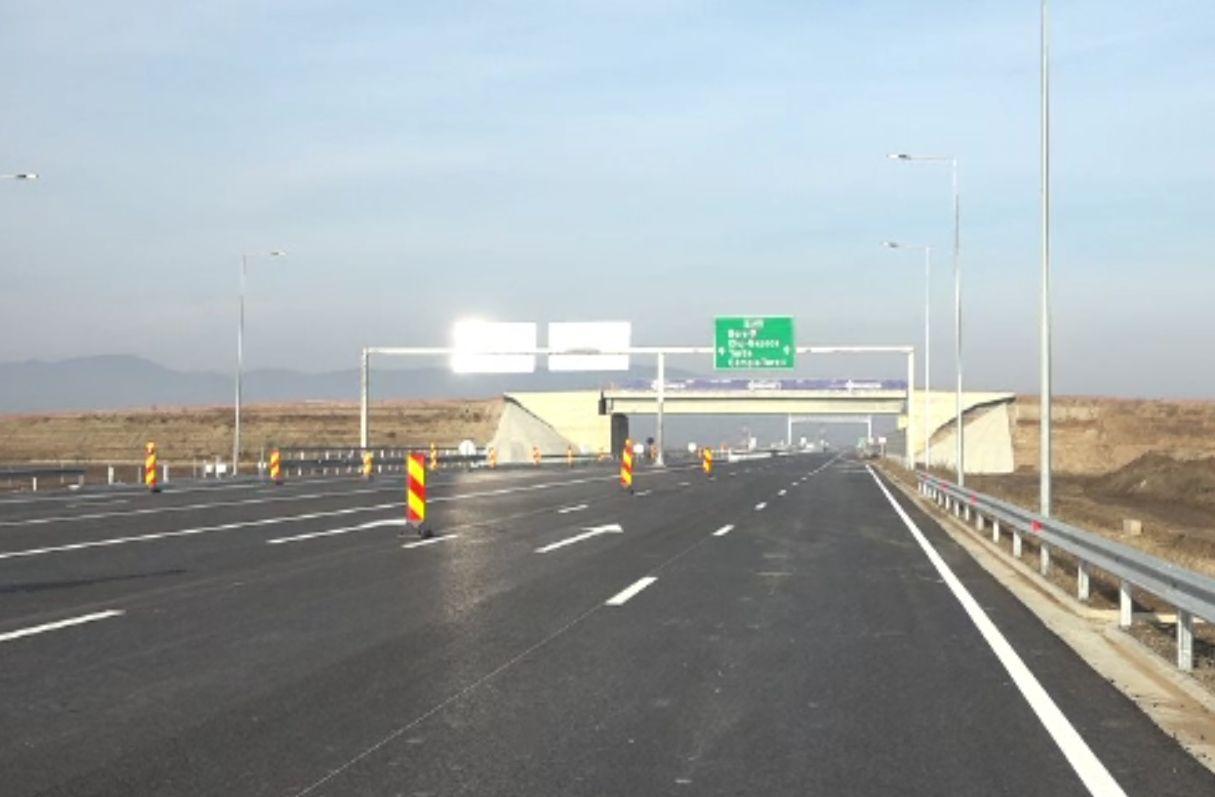 Lotul 1 al Autostrăzii Sebeș-Turda a fost deschis. Șoferii vor face 15 minute în loc de o oră