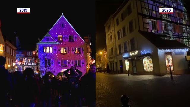 Marile bulevarde din Europa, pustii înainte de Sărbători. Cum arătau în 2019