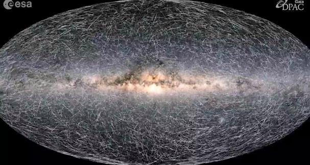 Astronomii au dezvăluit cea mai detaliată hartă 3D a Căii Lactee. FOTO
