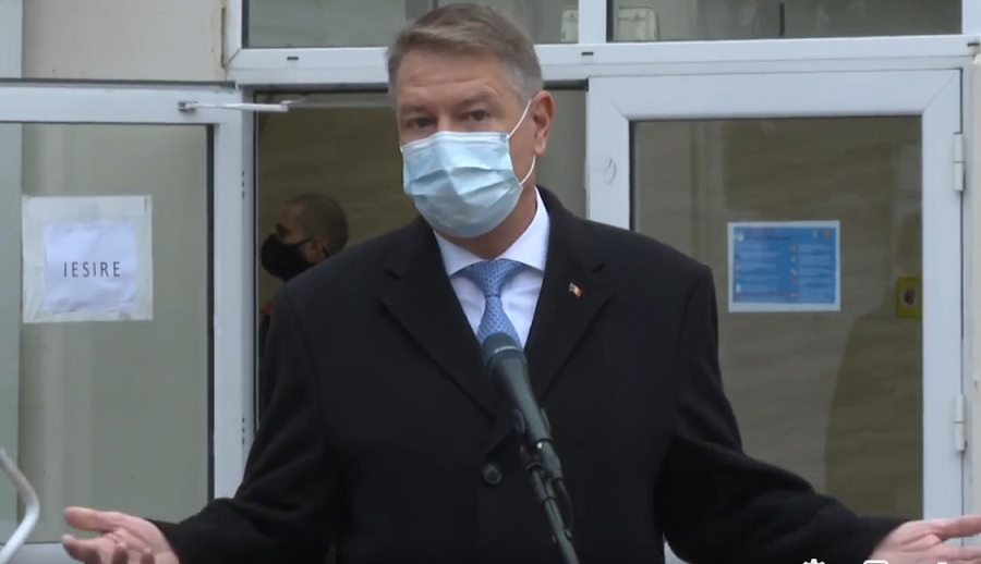 Klaus Iohannis a votat la alegeri parlamentare: