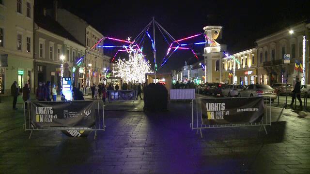 """Festivalul Luminii de la Cluj-Napoca, o feerie care te pune pe gânduri. """"Mi se pare magică"""""""