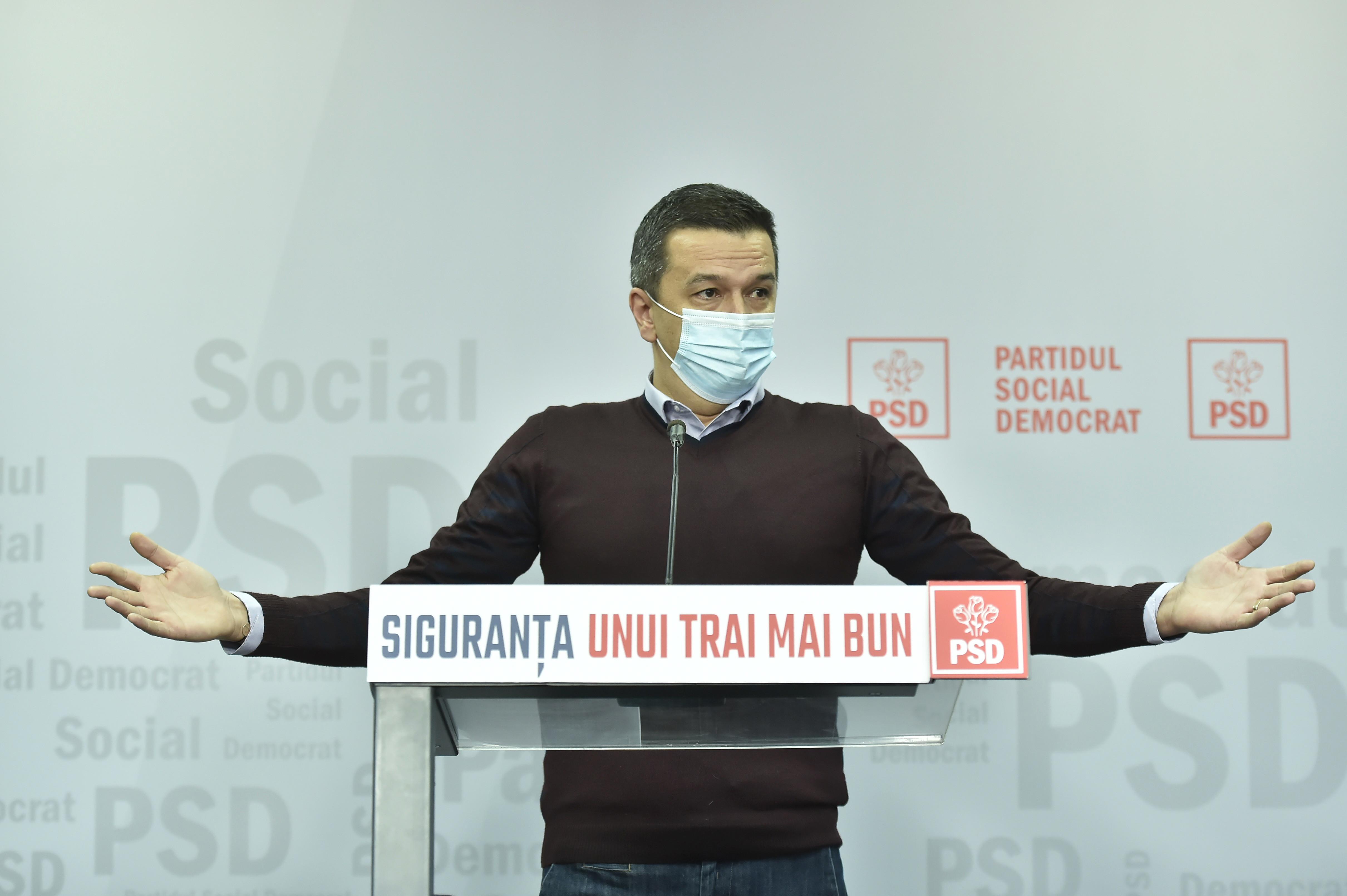 """Grindeanu nu crede în alianța PSD cu AUR în Parlament: """"Nu se înscriu pe o linie europeană"""""""