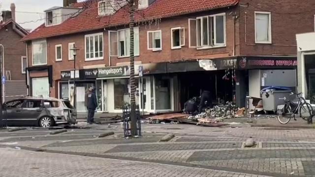 Două magazine din Olanda, devastate de explozii. Ce suspectează polițiștii