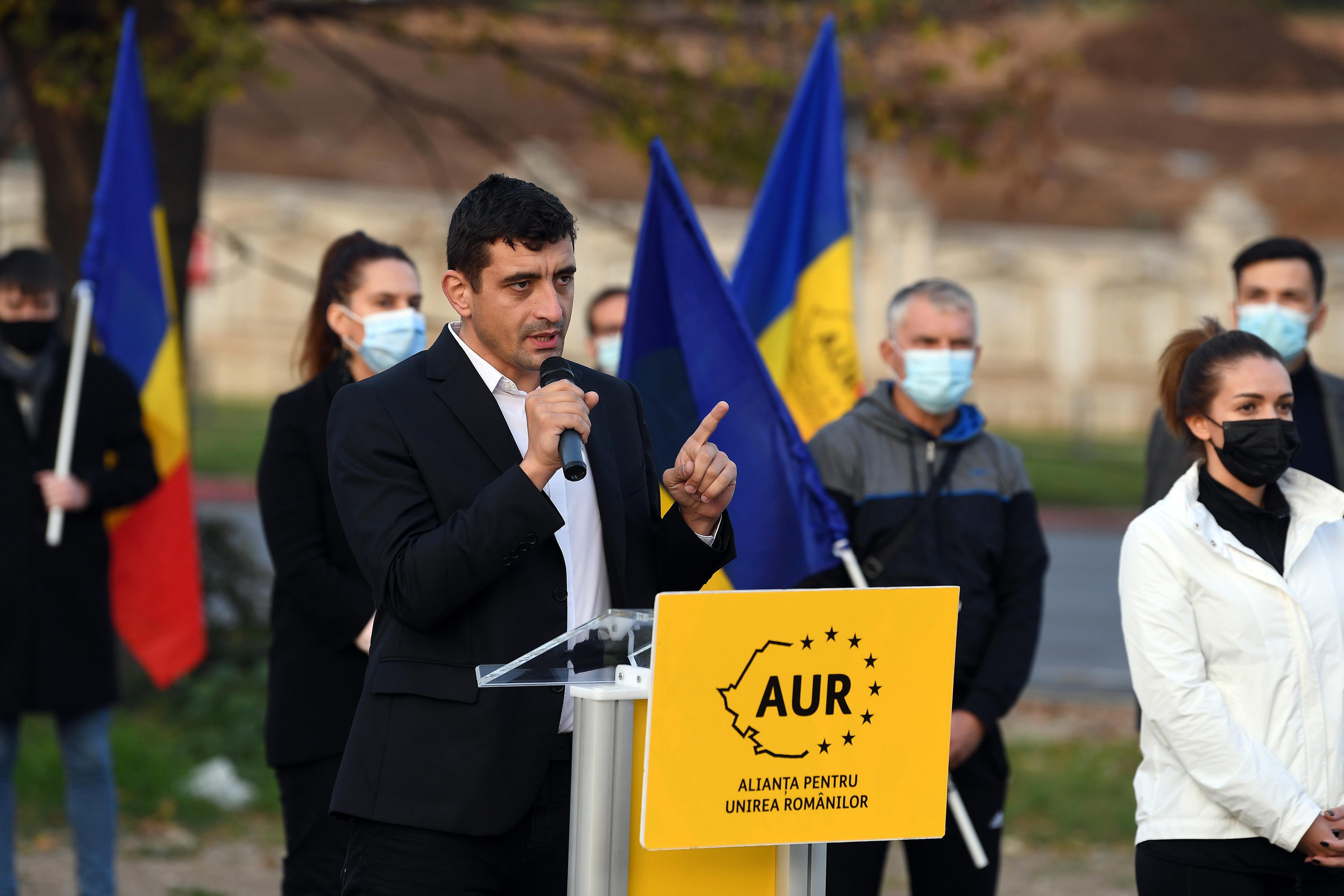 George Simion anunță că va lansa AUR și la Chișinău, deși are interdicție în Republica Moldova