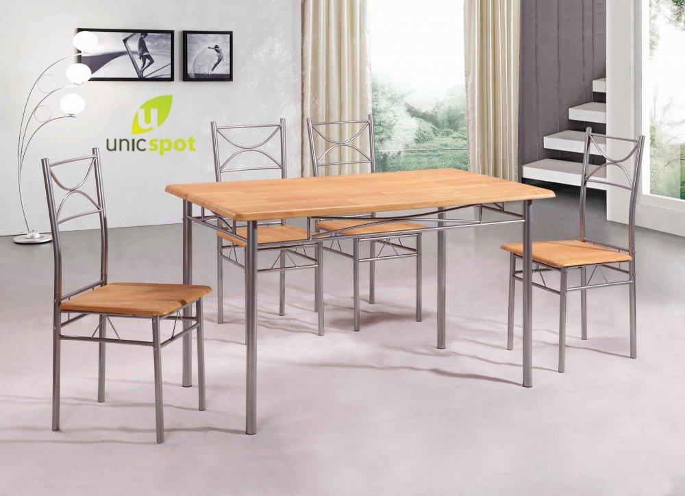 (P) Stilul modern în living - mai ușor de integrat cu seturile de mese și scaune de la Unic Spot