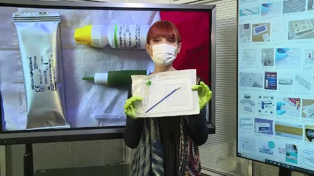 Testul rapid din salivă pentru coronavirus a ajuns și în România. Nu este pentru uz casnic