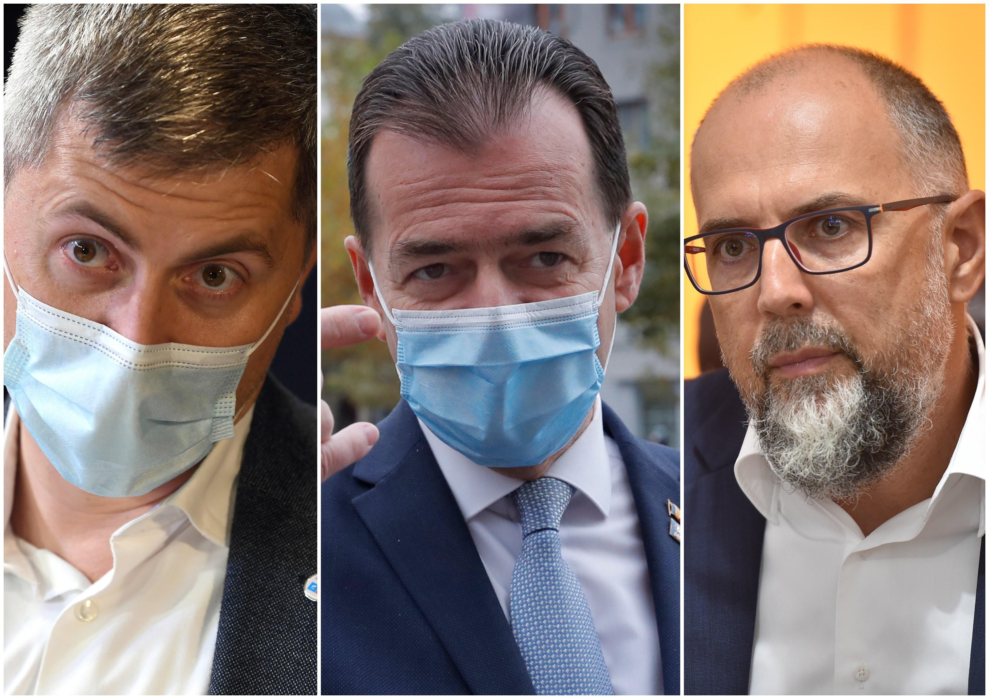 Criză politică în Guvern. Surse: Miniștrii USR-PLUS nu mai participă la ședințele Executivului cât timp Cîțu e premier