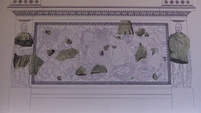 """Basoreliefuri cu războinici daci, descoperite la Roma. """"Sunt piese de importanţă majoră"""""""