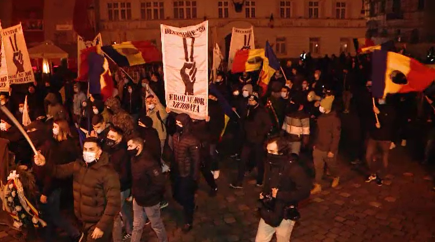 Zi de doliu în Timişoara. Victimele căzute la 17 decembrie '89, comemorate printr-un marș