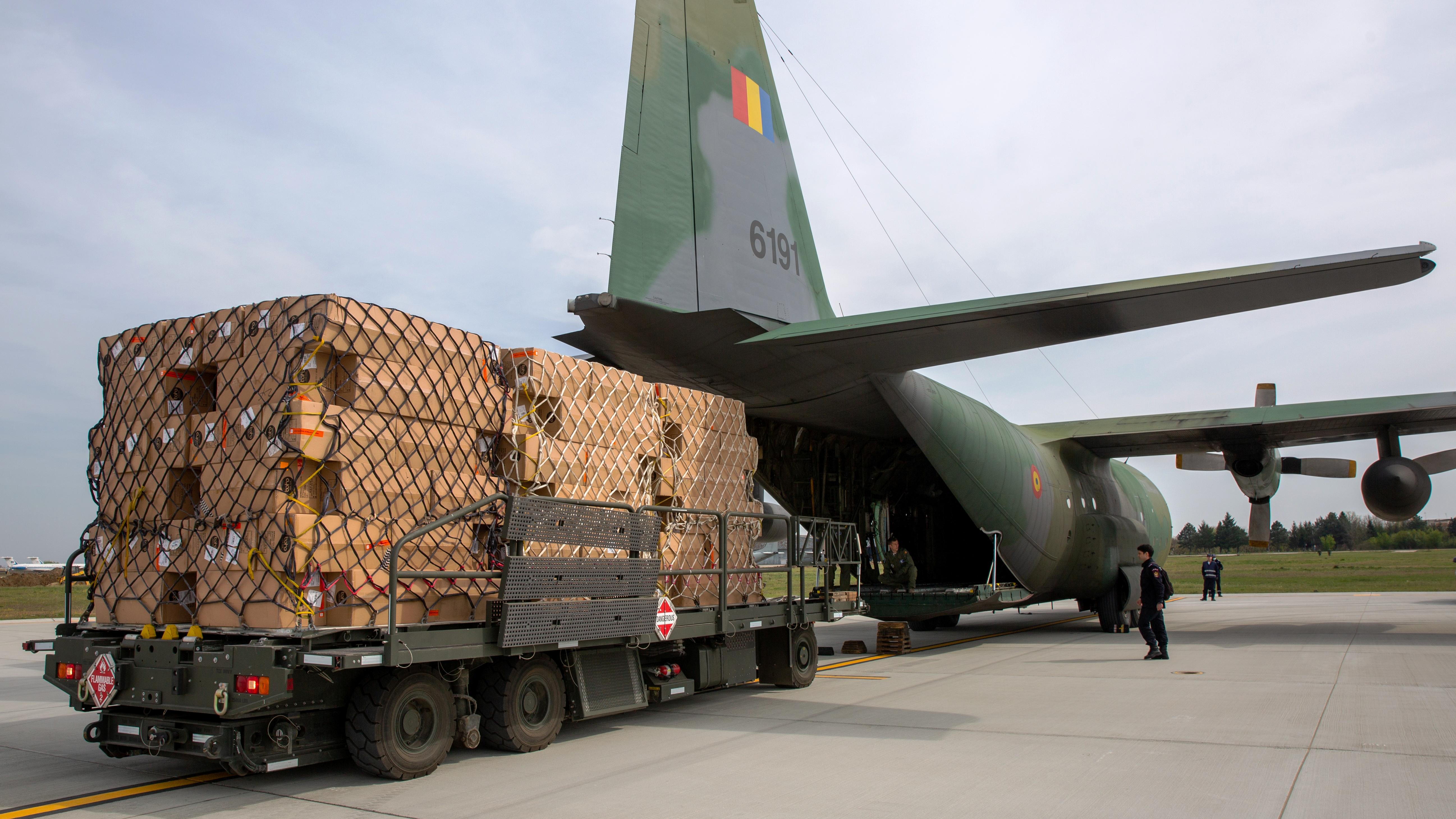 Germania a donat României echipamente de terapie intensivă pentru unitățile Covid-19