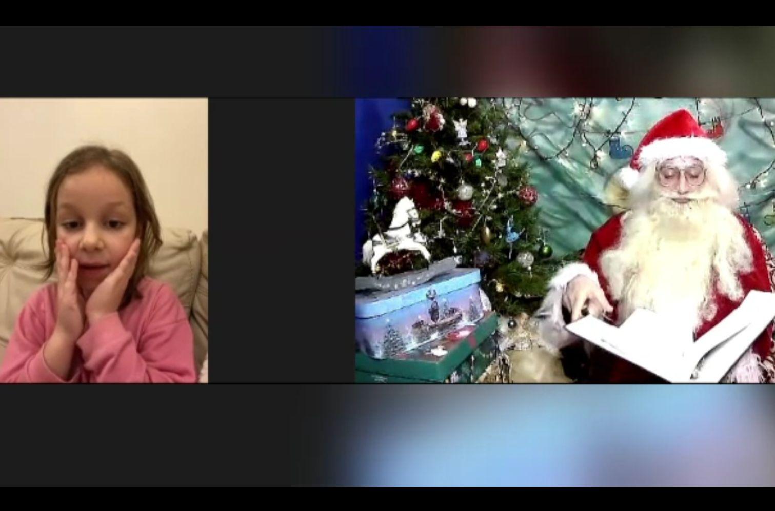 Moș Crăciun organizează întâlniri virtuale pentru copiii românilor din diaspora. Familiile, despărțite de mii de kilometri