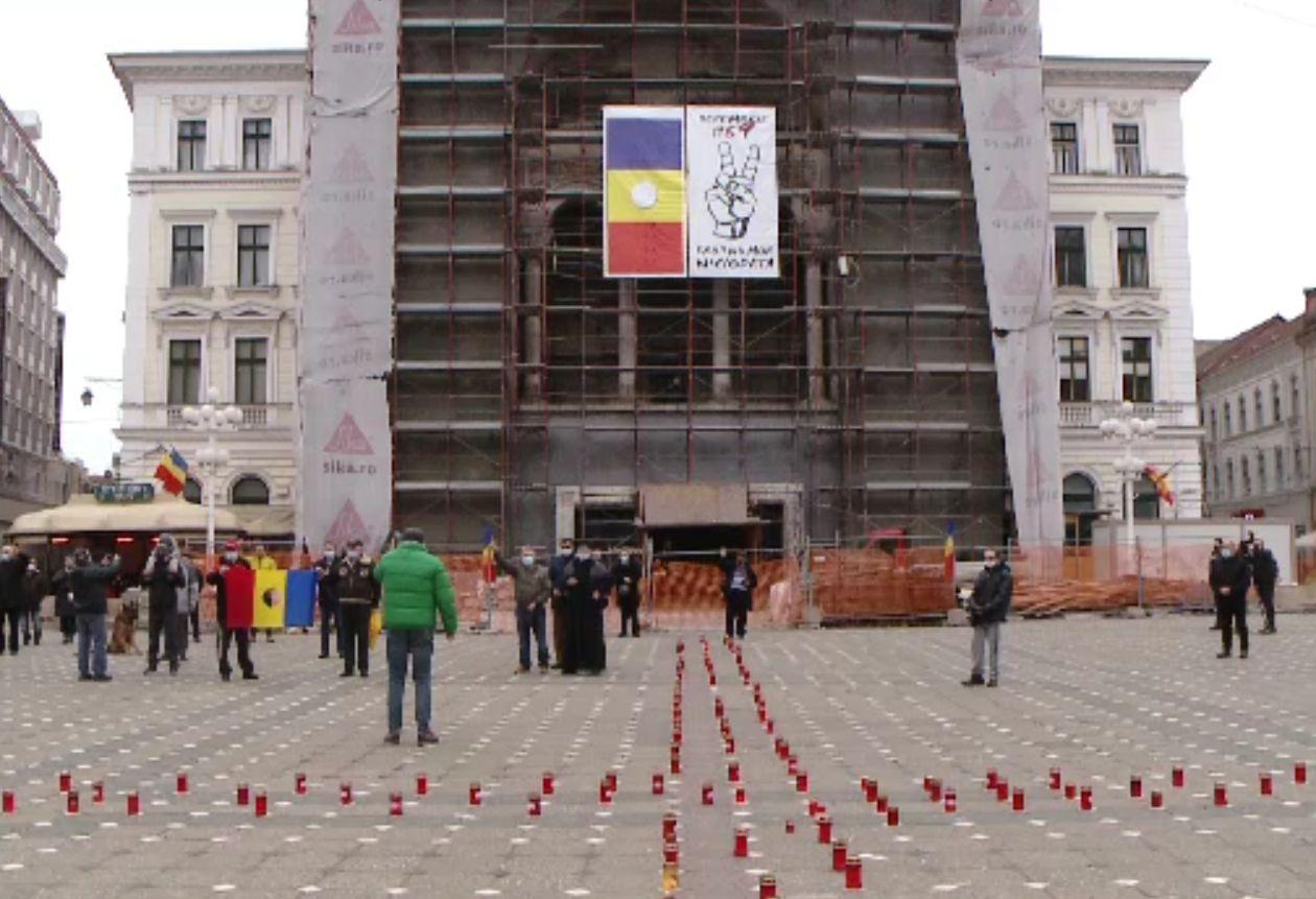 """Acum 31 de ani, la Timișoara s-a strigat """"Libertate!"""". Sirenele au răsunat duminică în centrul orașului"""