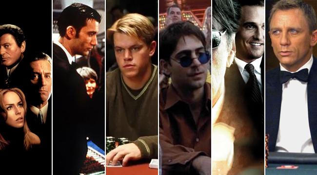 (P) Filme cu și despre casino, poker sau pariuri sportive care merită văzute!