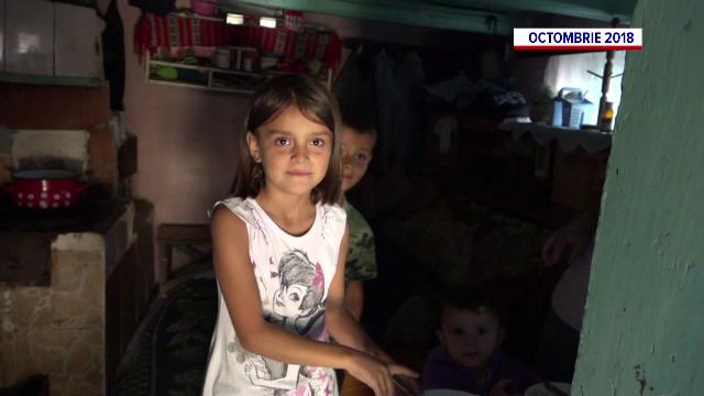 Bogdan Tănasă, de la Asociația Casa Share, a oferit daruri fetiței care a impresionat o țară întreagă în urmă cu doi ani