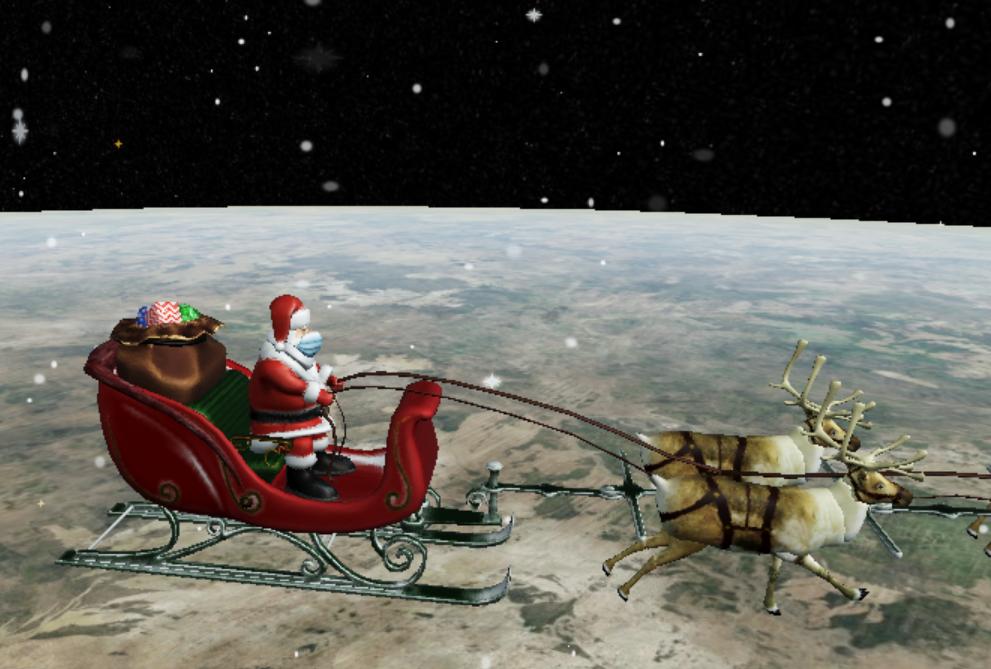 Moș Crăciun și-a început călătoria în jurul lumii. Unde poate fi urmărit LIVE traseul său