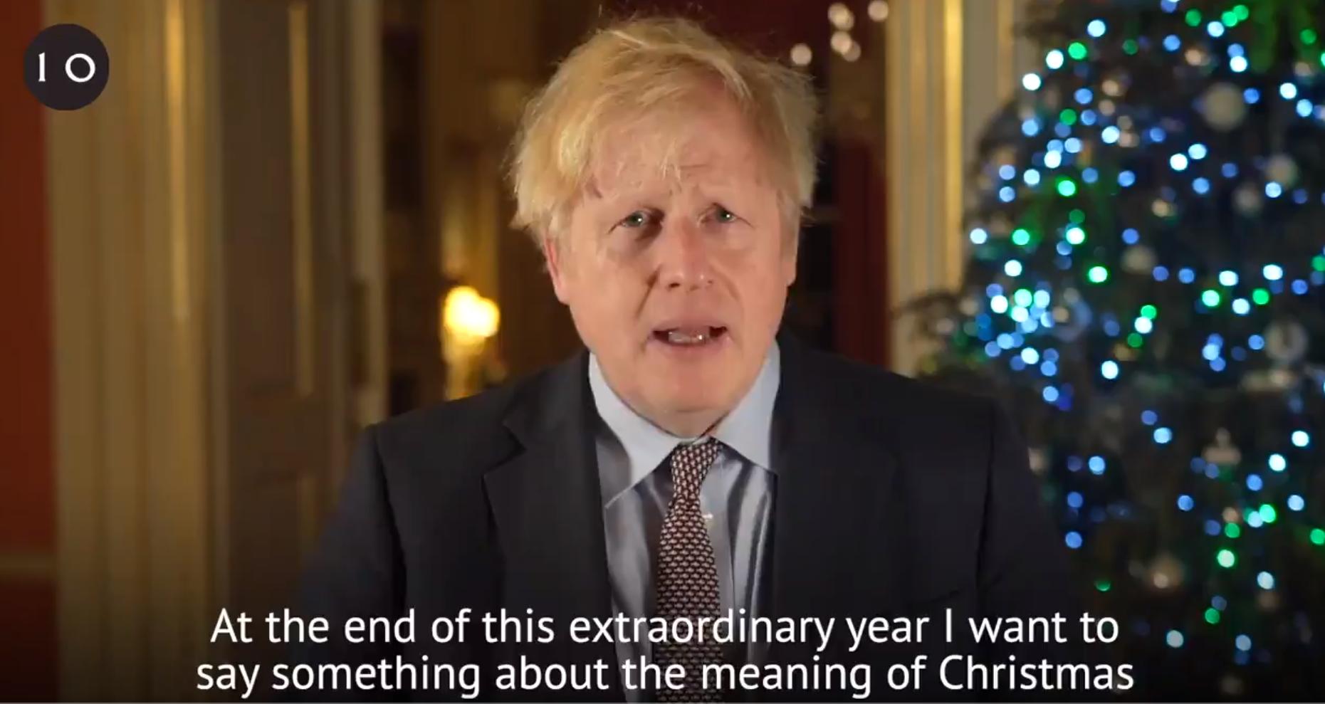 """Boris Johnson le-a arătat britanicilor acordul post-Brexit, drept """"cadou"""" de Crăciun"""