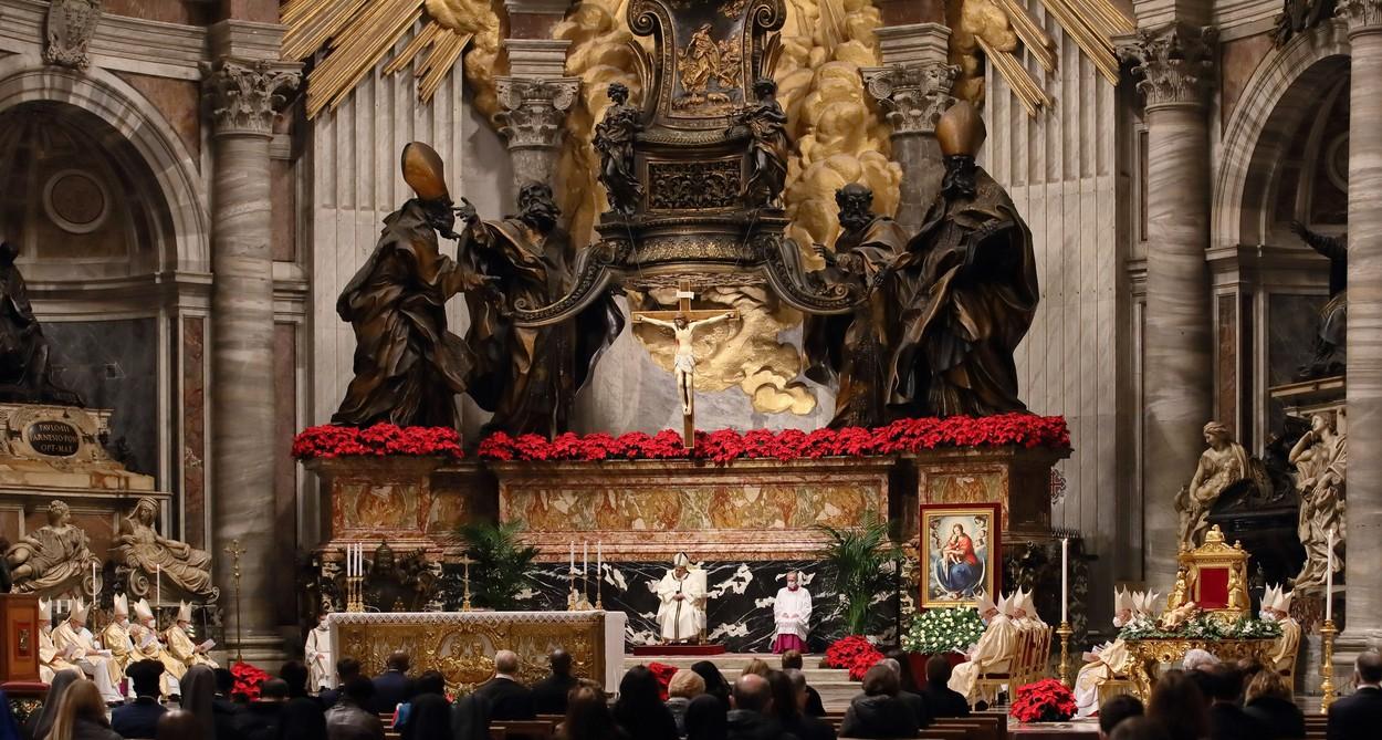 Slujba de Crăciun de la Vatican