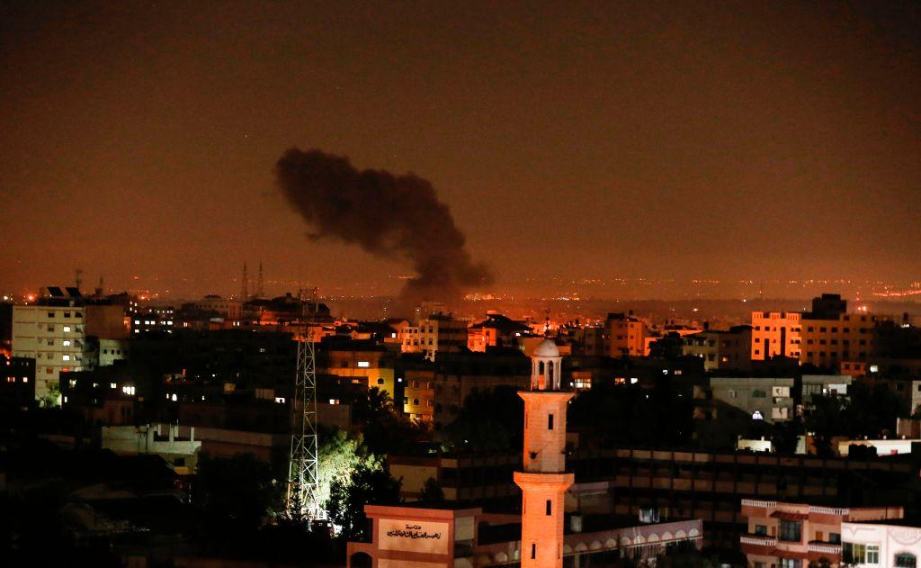 Război de Crăciun în Fâșia Gaza. Israelul a bombardat mai multe zone ale grupării Hamas